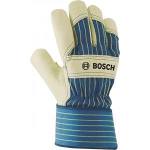 Защитные перчатки из бычьей кожи GL FL 10, 1 пара, BOSCH, 2607990108