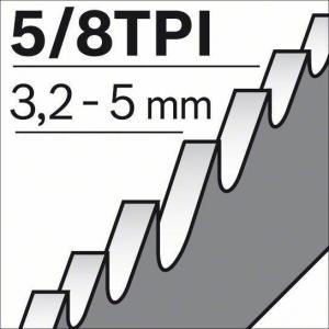 5 Пильное полотно BIM S 610 VF, BOSCH, 2608657608