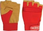 Перчатки комбинированные универсальные с открытыми пальцами, FIT, 12412