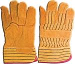 """Перчатки рабочие кожаные (размер 10,5""""), FIT, 12440"""
