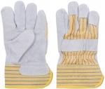 """Перчатки рабочие кожаные (размер 10,5""""), FIT, 12442"""