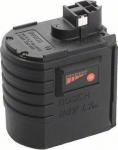 Аккумулятор вставной для перфоратора 24 В, GBH 24 VRE Professional, 1,7 Ач, Ni-Cd, BOSCH, 2607335082