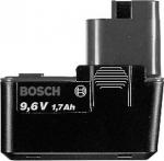 Аккумулятор плоский 9,6 В, 2 Aч, NiCd для аккумуляторного инструмента, BOSCH, 2607335152