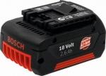 Аккумулятор 18 В, 2,6 Ач, Li-Ion, BOSCH, 2607336092