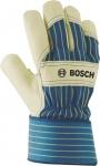 Защитные перчатки из бычьей кожи GL FL 11, 1 пара, BOSCH, 2607990110