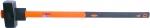 Кувалда с фиброглассовой обратной усиленной ручкой, 5 кг, FAMAKS, 45245