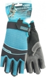 Перчатки комбинированные облегченные, открытые пальцы, AKTIV, М, GROSS, 90315